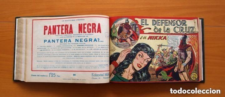 Tebeos: El Defensor de la Cruz - Colec. completa encuadernada - 54 tebeos, Editorial Maga en 1956, ver fotos - Foto 33 - 128247631