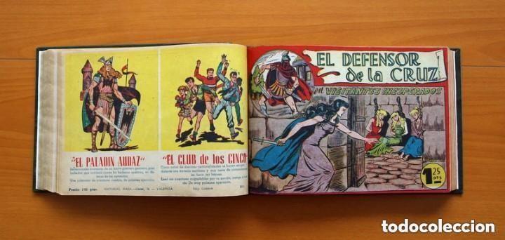 Tebeos: El Defensor de la Cruz - Colec. completa encuadernada - 54 tebeos, Editorial Maga en 1956, ver fotos - Foto 34 - 128247631