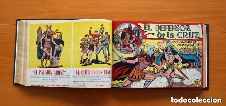 Tebeos: El Defensor de la Cruz - Colec. completa encuadernada - 54 tebeos, Editorial Maga en 1956, ver fotos - Foto 35 - 128247631