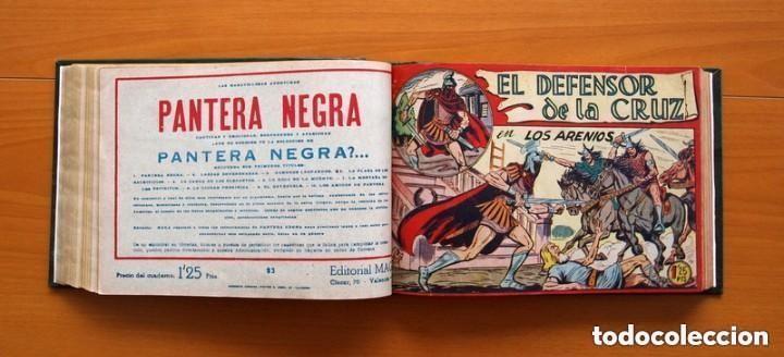 Tebeos: El Defensor de la Cruz - Colec. completa encuadernada - 54 tebeos, Editorial Maga en 1956, ver fotos - Foto 36 - 128247631