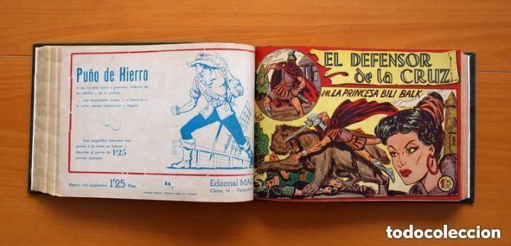 Tebeos: El Defensor de la Cruz - Colec. completa encuadernada - 54 tebeos, Editorial Maga en 1956, ver fotos - Foto 37 - 128247631