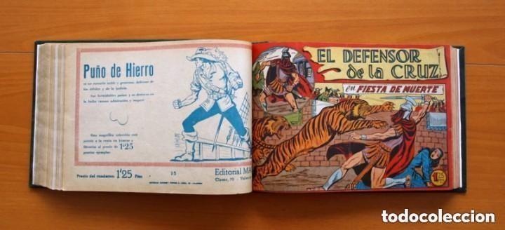Tebeos: El Defensor de la Cruz - Colec. completa encuadernada - 54 tebeos, Editorial Maga en 1956, ver fotos - Foto 38 - 128247631