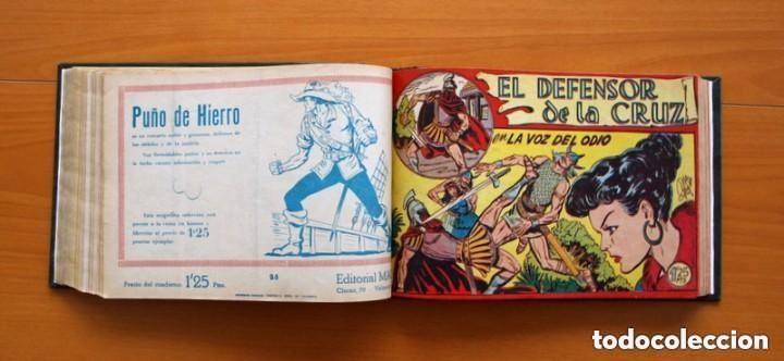 Tebeos: El Defensor de la Cruz - Colec. completa encuadernada - 54 tebeos, Editorial Maga en 1956, ver fotos - Foto 39 - 128247631