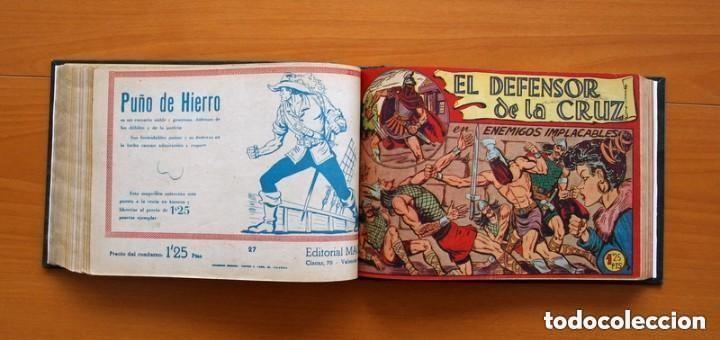 Tebeos: El Defensor de la Cruz - Colec. completa encuadernada - 54 tebeos, Editorial Maga en 1956, ver fotos - Foto 40 - 128247631
