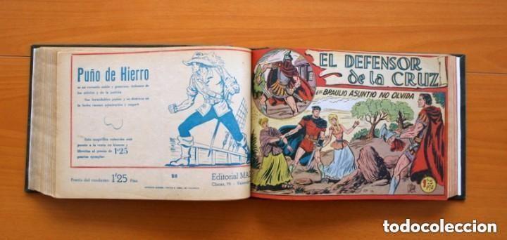 Tebeos: El Defensor de la Cruz - Colec. completa encuadernada - 54 tebeos, Editorial Maga en 1956, ver fotos - Foto 41 - 128247631