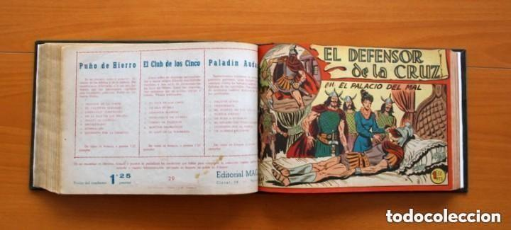 Tebeos: El Defensor de la Cruz - Colec. completa encuadernada - 54 tebeos, Editorial Maga en 1956, ver fotos - Foto 42 - 128247631