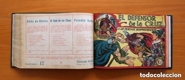 Tebeos: El Defensor de la Cruz - Colec. completa encuadernada - 54 tebeos, Editorial Maga en 1956, ver fotos - Foto 43 - 128247631