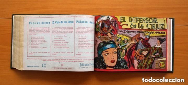 Tebeos: El Defensor de la Cruz - Colec. completa encuadernada - 54 tebeos, Editorial Maga en 1956, ver fotos - Foto 45 - 128247631