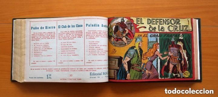 Tebeos: El Defensor de la Cruz - Colec. completa encuadernada - 54 tebeos, Editorial Maga en 1956, ver fotos - Foto 46 - 128247631