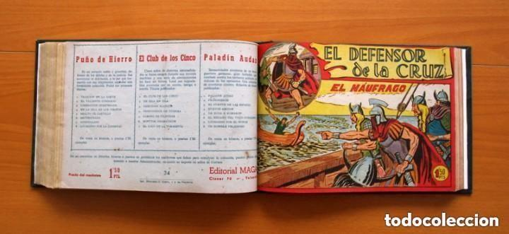 Tebeos: El Defensor de la Cruz - Colec. completa encuadernada - 54 tebeos, Editorial Maga en 1956, ver fotos - Foto 47 - 128247631