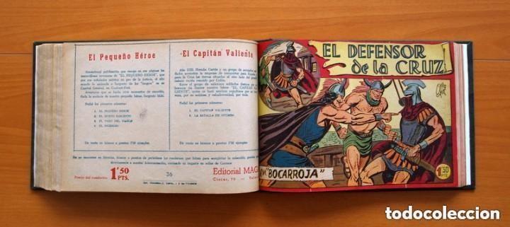 Tebeos: El Defensor de la Cruz - Colec. completa encuadernada - 54 tebeos, Editorial Maga en 1956, ver fotos - Foto 49 - 128247631