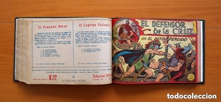 Tebeos: El Defensor de la Cruz - Colec. completa encuadernada - 54 tebeos, Editorial Maga en 1956, ver fotos - Foto 50 - 128247631