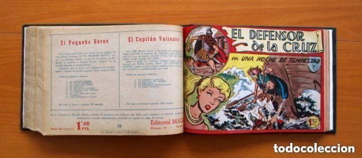 Tebeos: El Defensor de la Cruz - Colec. completa encuadernada - 54 tebeos, Editorial Maga en 1956, ver fotos - Foto 51 - 128247631