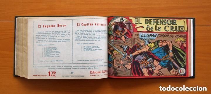 Tebeos: El Defensor de la Cruz - Colec. completa encuadernada - 54 tebeos, Editorial Maga en 1956, ver fotos - Foto 52 - 128247631