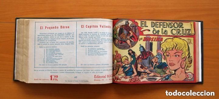 Tebeos: El Defensor de la Cruz - Colec. completa encuadernada - 54 tebeos, Editorial Maga en 1956, ver fotos - Foto 53 - 128247631