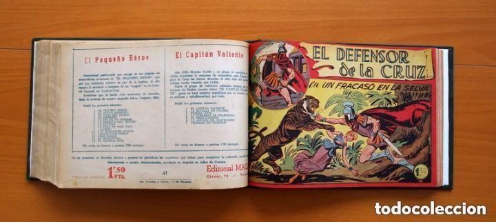 Tebeos: El Defensor de la Cruz - Colec. completa encuadernada - 54 tebeos, Editorial Maga en 1956, ver fotos - Foto 54 - 128247631