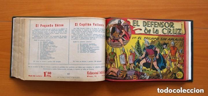 Tebeos: El Defensor de la Cruz - Colec. completa encuadernada - 54 tebeos, Editorial Maga en 1956, ver fotos - Foto 55 - 128247631