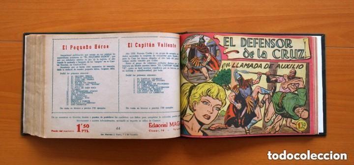 Tebeos: El Defensor de la Cruz - Colec. completa encuadernada - 54 tebeos, Editorial Maga en 1956, ver fotos - Foto 57 - 128247631