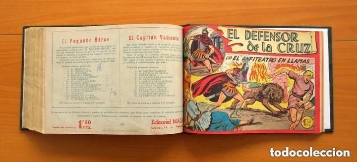 Tebeos: El Defensor de la Cruz - Colec. completa encuadernada - 54 tebeos, Editorial Maga en 1956, ver fotos - Foto 59 - 128247631