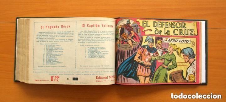 Tebeos: El Defensor de la Cruz - Colec. completa encuadernada - 54 tebeos, Editorial Maga en 1956, ver fotos - Foto 60 - 128247631