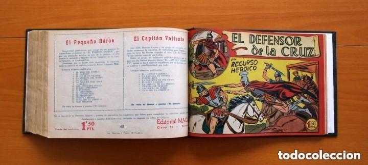 Tebeos: El Defensor de la Cruz - Colec. completa encuadernada - 54 tebeos, Editorial Maga en 1956, ver fotos - Foto 61 - 128247631