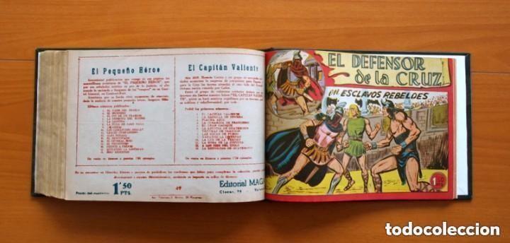 Tebeos: El Defensor de la Cruz - Colec. completa encuadernada - 54 tebeos, Editorial Maga en 1956, ver fotos - Foto 62 - 128247631