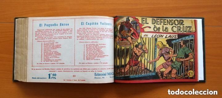 Tebeos: El Defensor de la Cruz - Colec. completa encuadernada - 54 tebeos, Editorial Maga en 1956, ver fotos - Foto 63 - 128247631