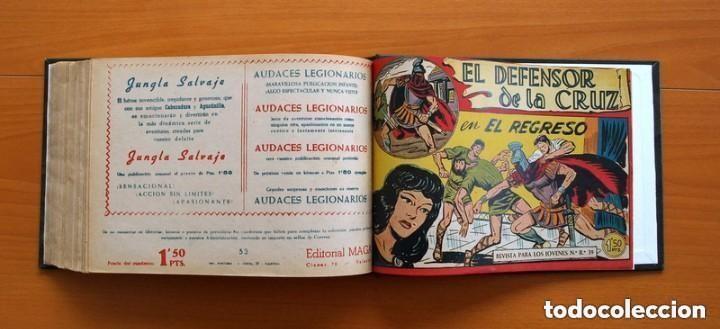 Tebeos: El Defensor de la Cruz - Colec. completa encuadernada - 54 tebeos, Editorial Maga en 1956, ver fotos - Foto 66 - 128247631