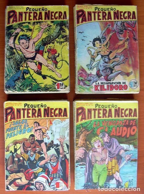 PEQUEÑO PANTERA NEGRA 17X12 - COLECCIÓN COMPLETA 70 EJEMPLARES - EDITORIAL MAGA 1960 (Tebeos y Comics - Tebeos Colecciones y Lotes Avanzados)