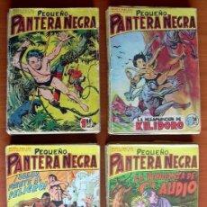 Tebeos: PEQUEÑO PANTERA NEGRA 17X12 - COLECCIÓN COMPLETA 70 EJEMPLARES - EDITORIAL MAGA 1960. Lote 128251227