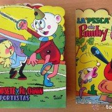 Tebeos: CUENTOS TROQUELADOS PUMBY - 26 EJEMPLARES - EDT. VALENCIANA 1965 - VER FOTOS INTERIORES. Lote 128252715