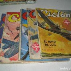 Tebeos: COLECCION DE CICLON DEL 1 AL 5. Lote 128636967