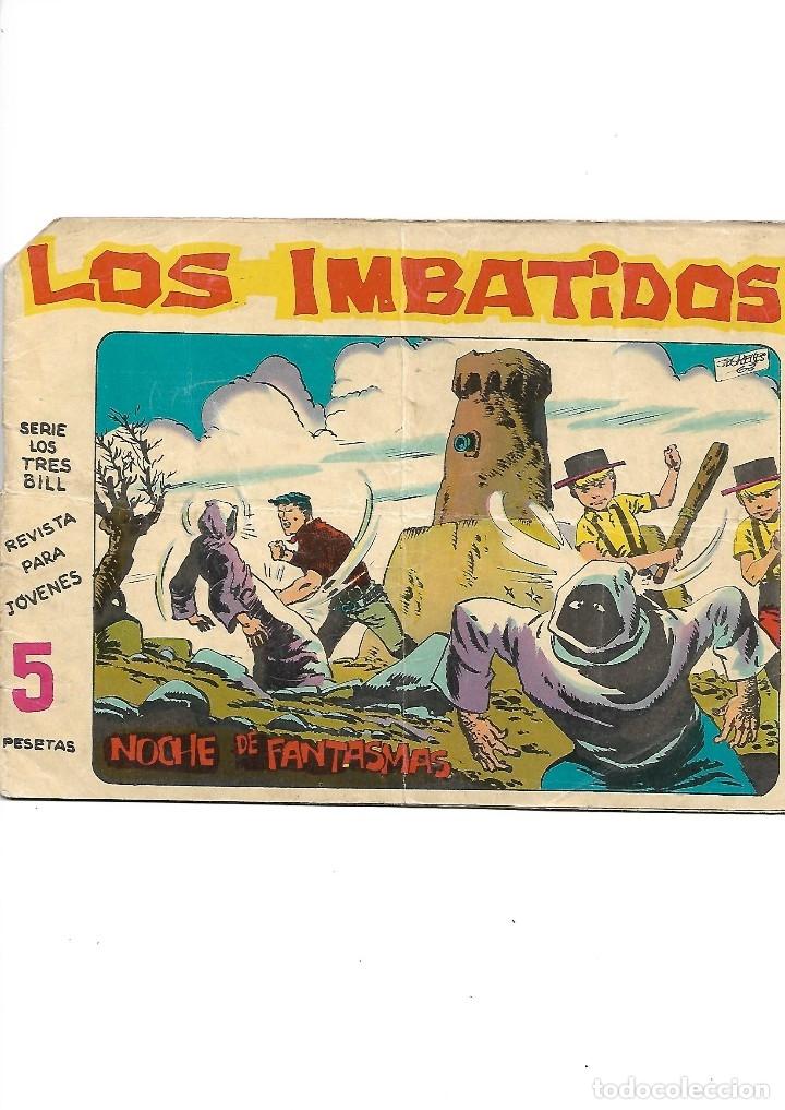 Tebeos: Los Imbatidos Año 1963 Lote de 23 Tebeos Originales Dibujos de Vicente Segrelles Editorial Maga. - Foto 6 - 128696987