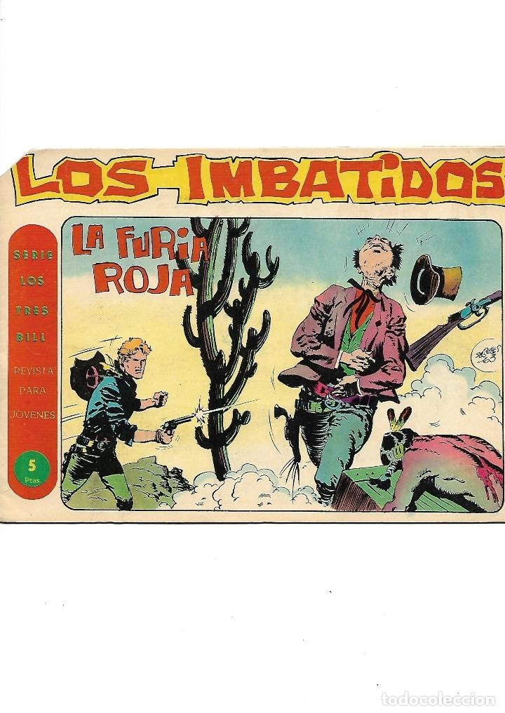 Tebeos: Los Imbatidos Año 1963 Lote de 23 Tebeos Originales Dibujos de Vicente Segrelles Editorial Maga. - Foto 8 - 128696987