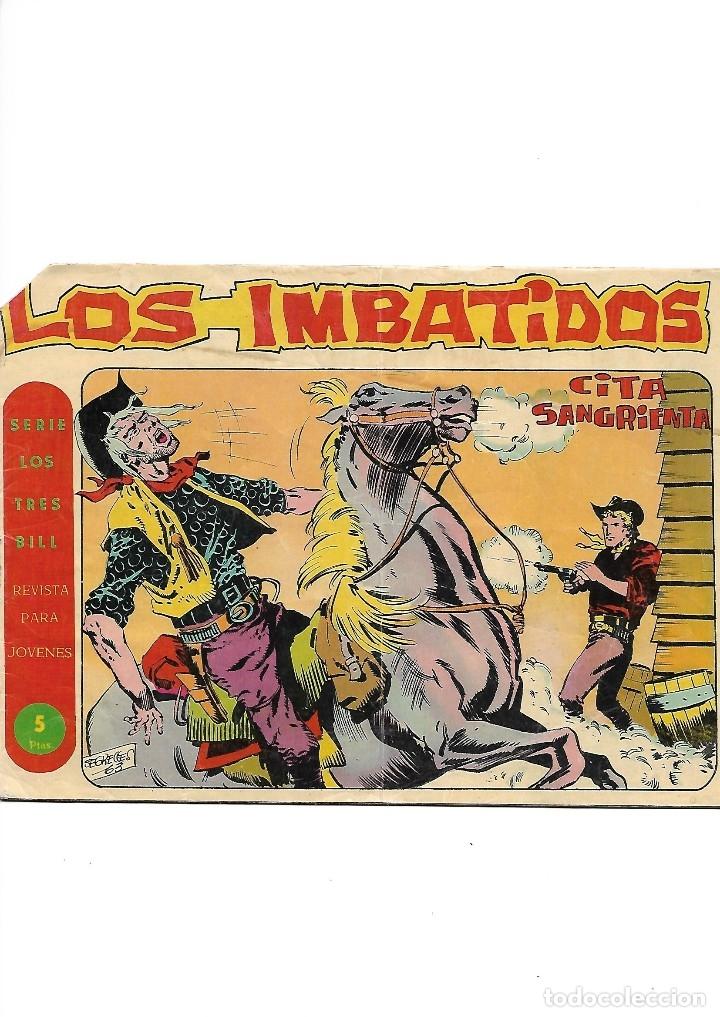 Tebeos: Los Imbatidos Año 1963 Lote de 23 Tebeos Originales Dibujos de Vicente Segrelles Editorial Maga. - Foto 10 - 128696987
