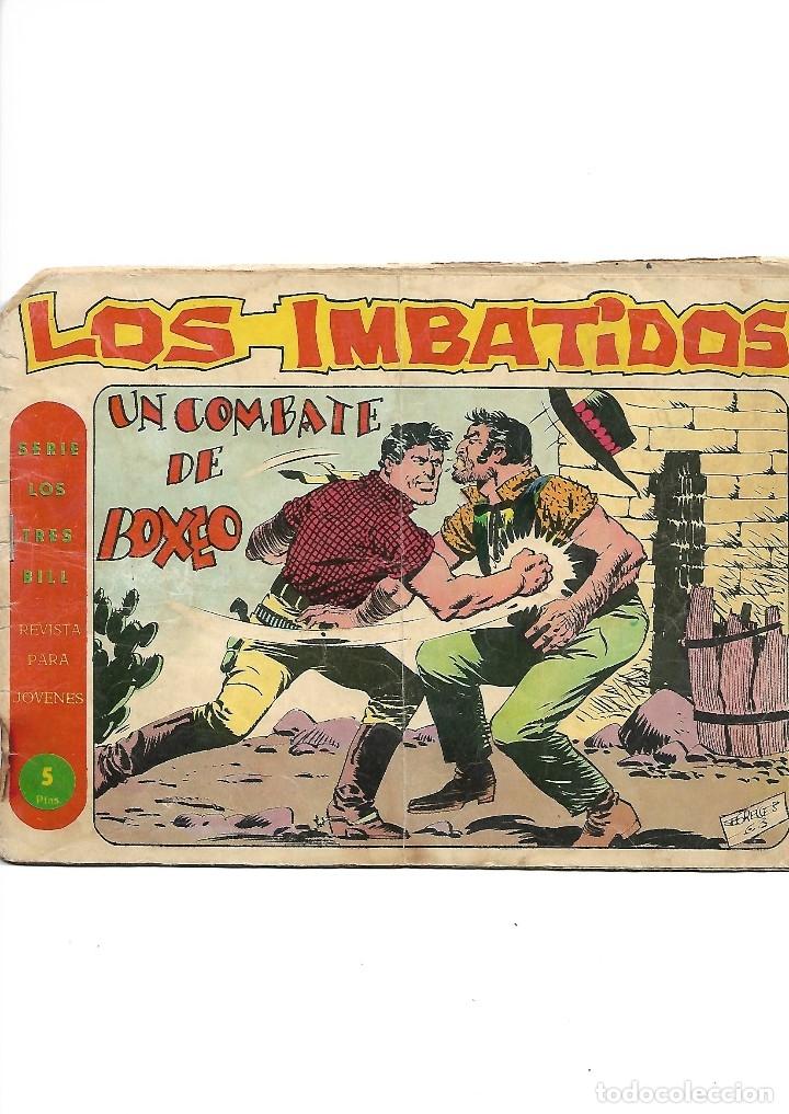 Tebeos: Los Imbatidos Año 1963 Lote de 23 Tebeos Originales Dibujos de Vicente Segrelles Editorial Maga. - Foto 14 - 128696987