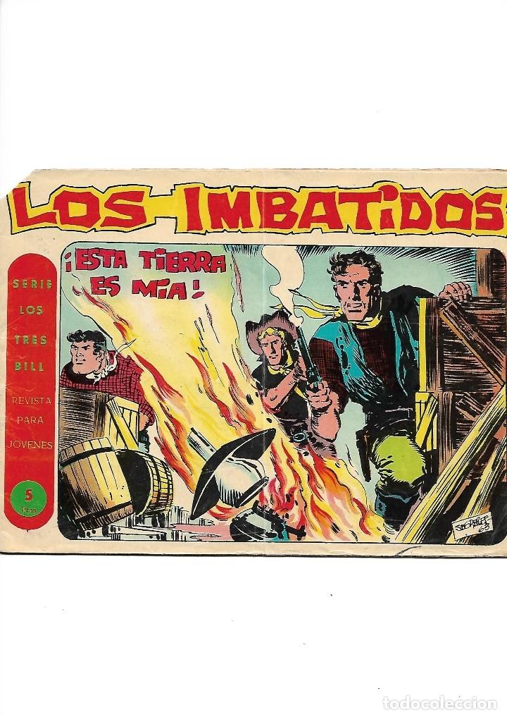 Tebeos: Los Imbatidos Año 1963 Lote de 23 Tebeos Originales Dibujos de Vicente Segrelles Editorial Maga. - Foto 16 - 128696987