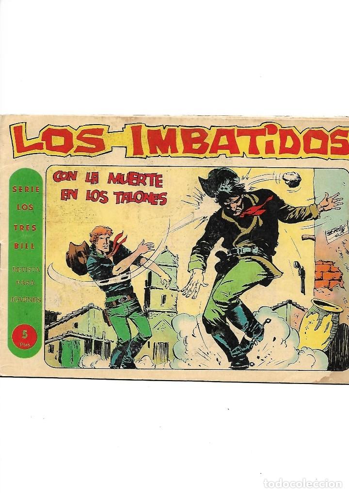 Tebeos: Los Imbatidos Año 1963 Lote de 23 Tebeos Originales Dibujos de Vicente Segrelles Editorial Maga. - Foto 18 - 128696987