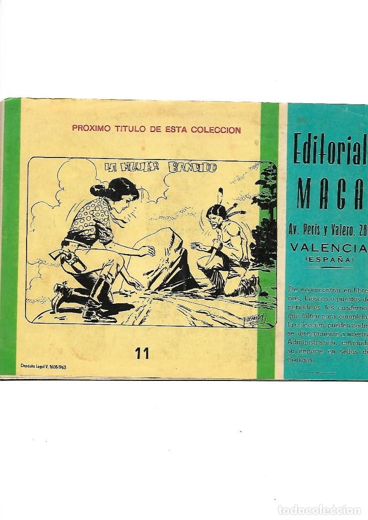 Tebeos: Los Imbatidos Año 1963 Lote de 23 Tebeos Originales Dibujos de Vicente Segrelles Editorial Maga. - Foto 19 - 128696987