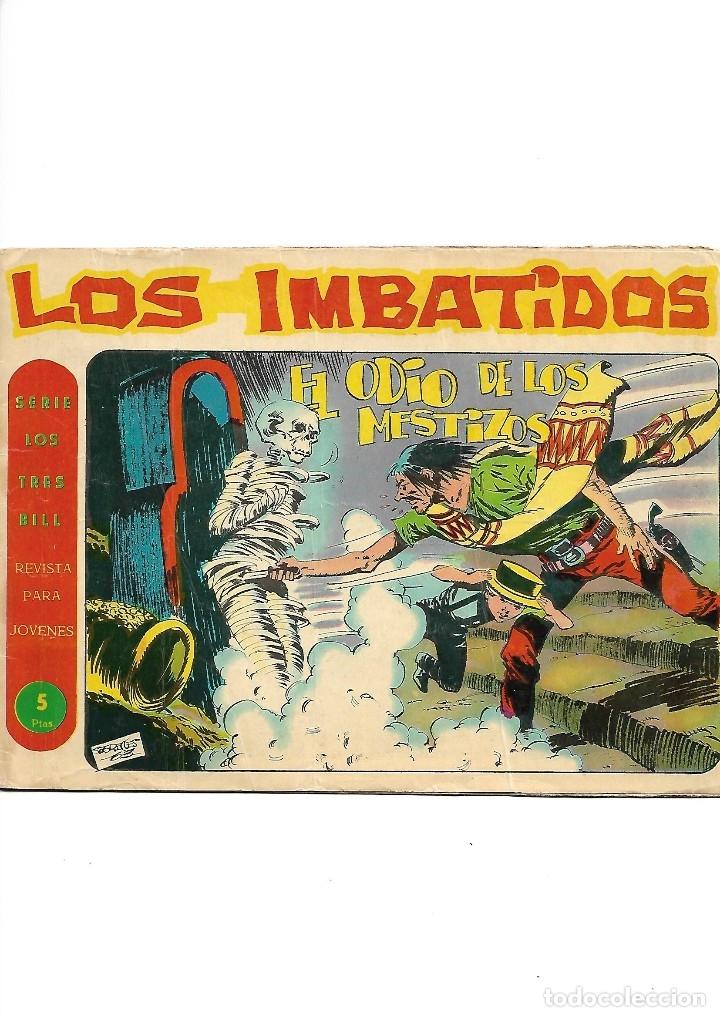 Tebeos: Los Imbatidos Año 1963 Lote de 23 Tebeos Originales Dibujos de Vicente Segrelles Editorial Maga. - Foto 20 - 128696987