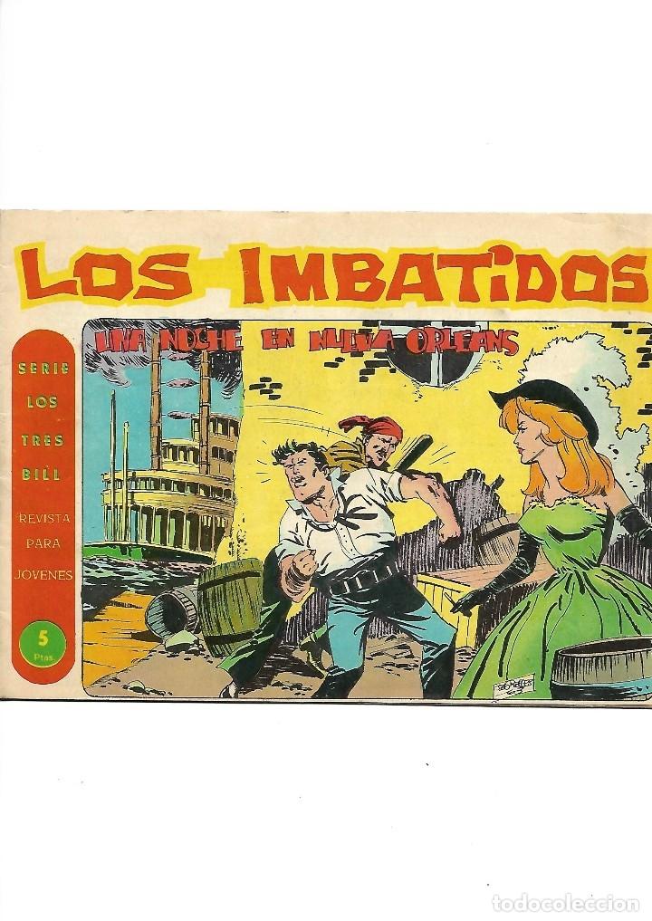 Tebeos: Los Imbatidos Año 1963 Lote de 23 Tebeos Originales Dibujos de Vicente Segrelles Editorial Maga. - Foto 22 - 128696987