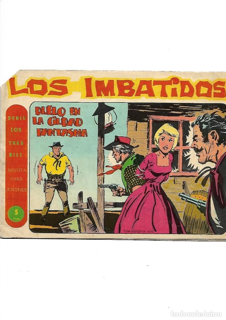 Tebeos: Los Imbatidos Año 1963 Lote de 23 Tebeos Originales Dibujos de Vicente Segrelles Editorial Maga. - Foto 24 - 128696987