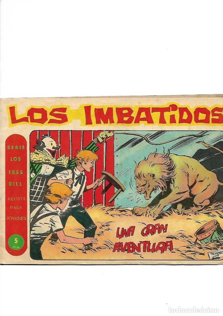 Tebeos: Los Imbatidos Año 1963 Lote de 23 Tebeos Originales Dibujos de Vicente Segrelles Editorial Maga. - Foto 26 - 128696987