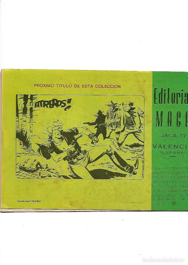 Tebeos: Los Imbatidos Año 1963 Lote de 23 Tebeos Originales Dibujos de Vicente Segrelles Editorial Maga. - Foto 27 - 128696987