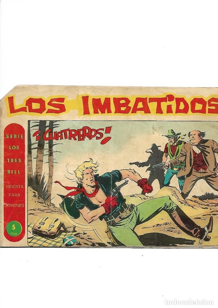 Tebeos: Los Imbatidos Año 1963 Lote de 23 Tebeos Originales Dibujos de Vicente Segrelles Editorial Maga. - Foto 28 - 128696987