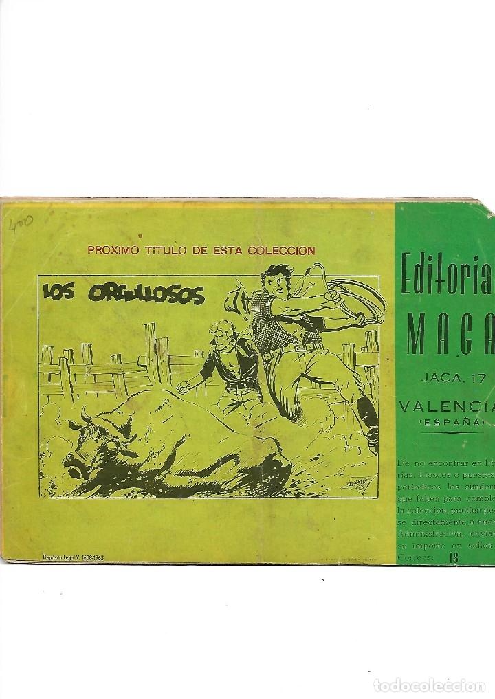 Tebeos: Los Imbatidos Año 1963 Lote de 23 Tebeos Originales Dibujos de Vicente Segrelles Editorial Maga. - Foto 29 - 128696987