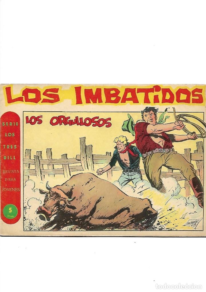 Tebeos: Los Imbatidos Año 1963 Lote de 23 Tebeos Originales Dibujos de Vicente Segrelles Editorial Maga. - Foto 30 - 128696987