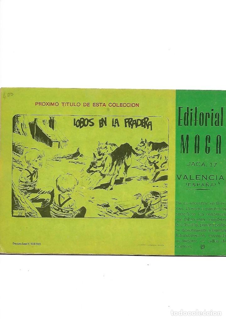 Tebeos: Los Imbatidos Año 1963 Lote de 23 Tebeos Originales Dibujos de Vicente Segrelles Editorial Maga. - Foto 31 - 128696987