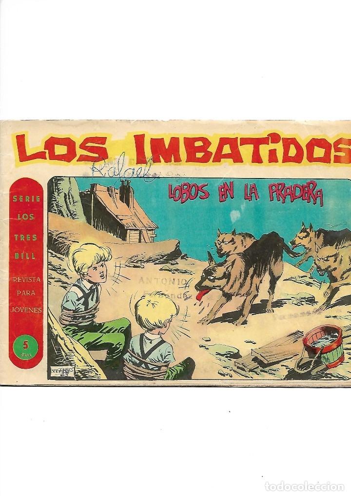Tebeos: Los Imbatidos Año 1963 Lote de 23 Tebeos Originales Dibujos de Vicente Segrelles Editorial Maga. - Foto 32 - 128696987