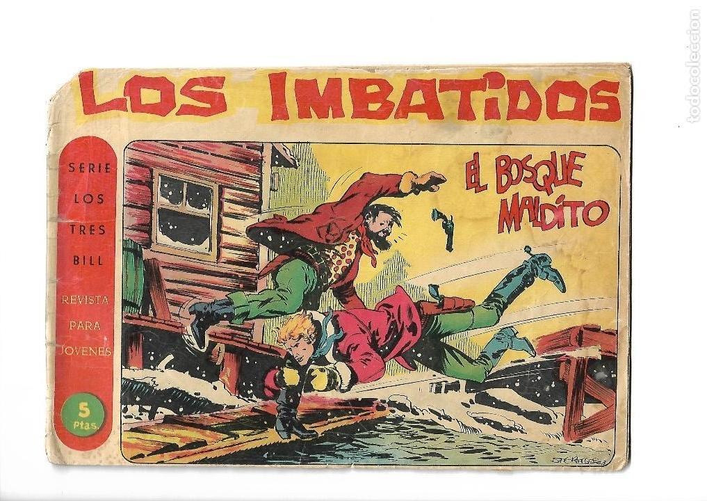 Tebeos: Los Imbatidos Año 1963 Lote de 23 Tebeos Originales Dibujos de Vicente Segrelles Editorial Maga. - Foto 34 - 128696987